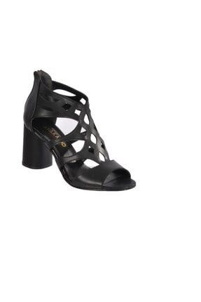 Maje 9837 Siyah Kadın Topuklu Ayakkabı