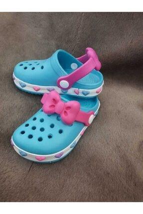 Akınal Bella Kız Çocuk Mavi Crocs Terlik