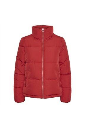 Vero Moda Kadın Kırmızı Mont