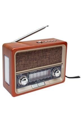Enshall Mini Nostaljik Radyo Fenerli Müzik Kutusu Usb/sd/fm/bluetooth