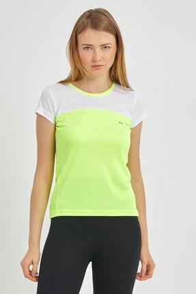 Slazenger Randers I Kadın T-shirt Neon Sarı St11tk002