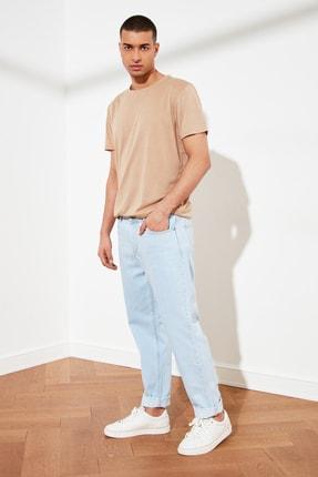 TRENDYOL MAN Açık Mavi Erkek Relax Fit Jeans TMNSS21JE0130