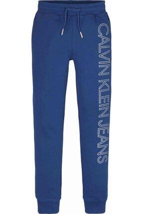 Calvin Klein Erkek Çocuk Mavi Reflectıve Lınes Logo Eşofman Altı