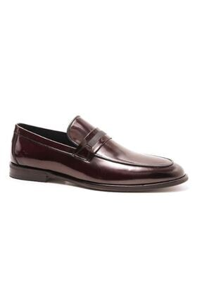 Pierre Cardin Erkek Bordo Rugan Klasik Ayakkabı