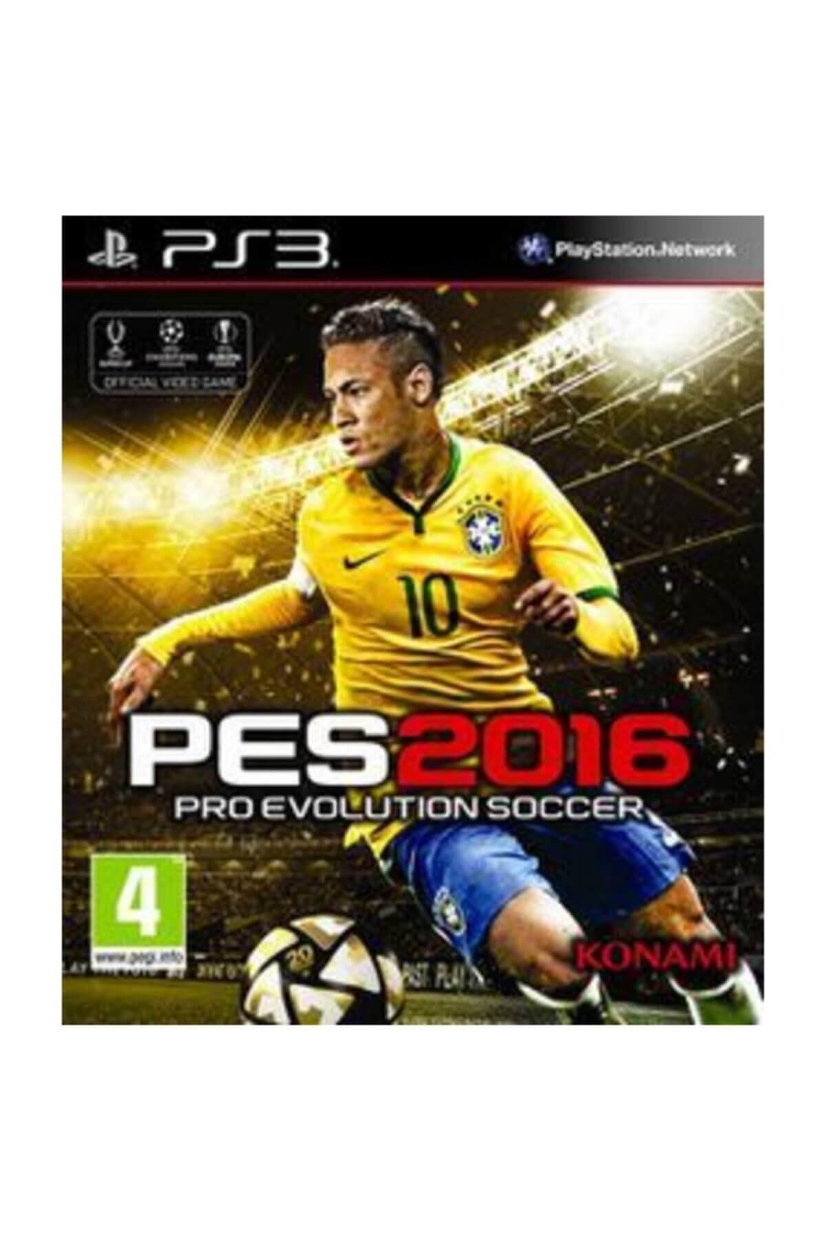 KONAMI Playstation 3 Oyunu Türkçe Menü ( Pes 2016 Ps3 ) Oyun 1