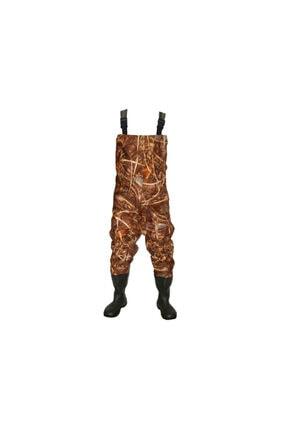 Bursa Avcı Su Geçirmez Bez Tulum Kıyafeti