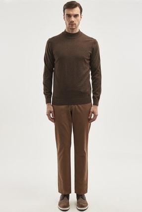 ALTINYILDIZ CLASSICS ERKEK Camel Slim Fit Chino Pantolon