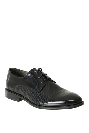 ALTINYILDIZ CLASSICS Erkek Siyah Klasik Rugan Ayakkabı