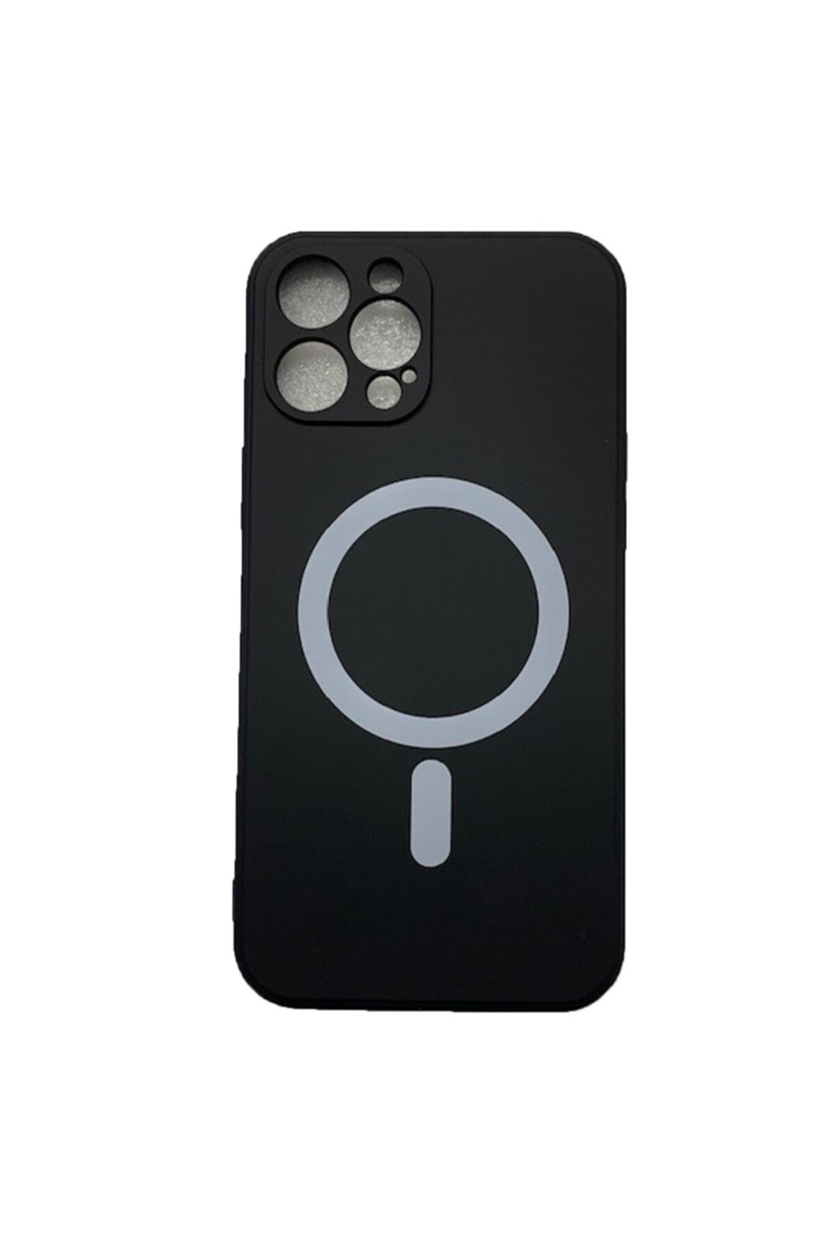 Joyroom Iphone 12 Pro Uyumlu Mıknatıslı Şarj Özellikli Magsafe Yumuşak Lansman Silikon Kılıf 1