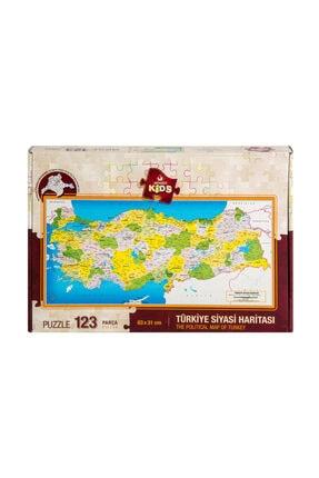 Art Puzzle Art Kids Türkiye Siyasi Haritası Frame Puzzle