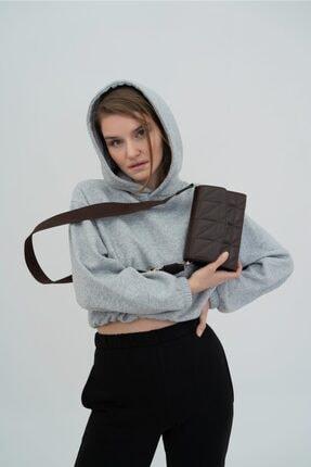 Shule Bags Kadın Kolon Askılı Baget Çanta Brenda Acı Kahve