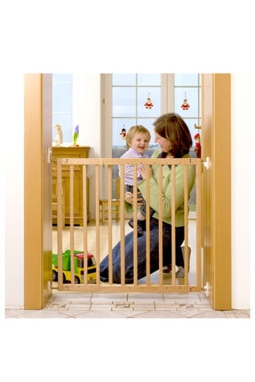 Babyjem Ahşap Güvenlik Kapısı