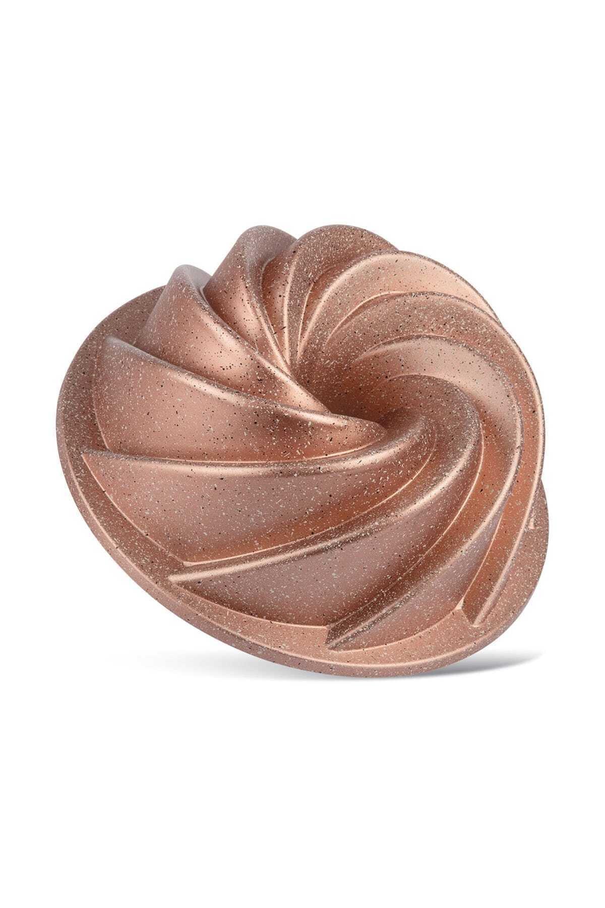 ThermoAD Granit Kek Kalıbı Rüzgar Gülü Rose Gold 1