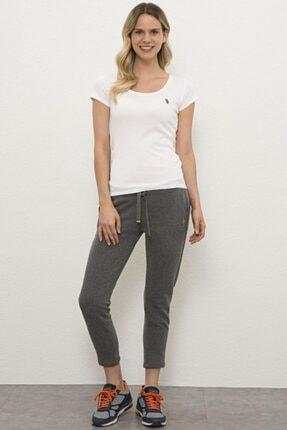 U.S. Polo Assn. G082sz0op.000.1070052 Kadın Gri Örme Pantolon