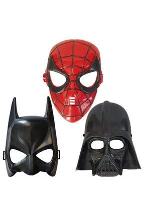 Örümcek Adam Spiderman Batman Darth Vader Maske