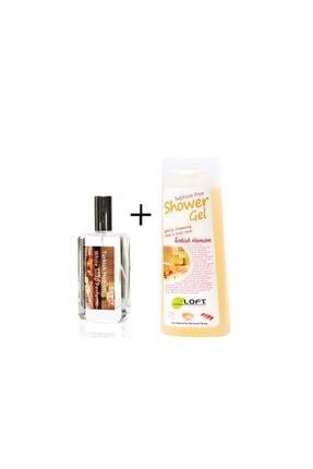 Loft Beyaz Sabun Kokulu Parfüm 100 Ml+ %99.5 Natural Sülfatsız Duş Jeli(geleneksel Türk Hamamı)300ml