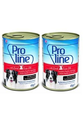 Pro Line Köpek Konserve Kuzu Etli Sos Içinde 415 Gr_2 Adet