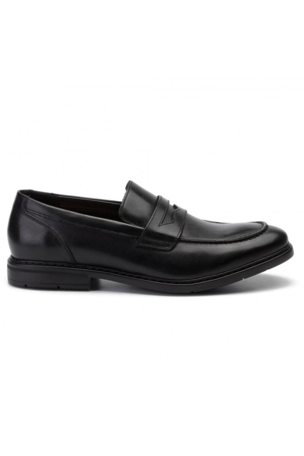 CLARKS Erkek Siyah Hakiki Deri Klasik Ayakkabı 2