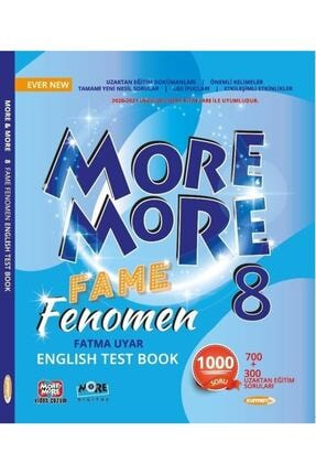 Kurmay ELT Kurmay More And More 8. Sınıf Fame Fenomen Test Book