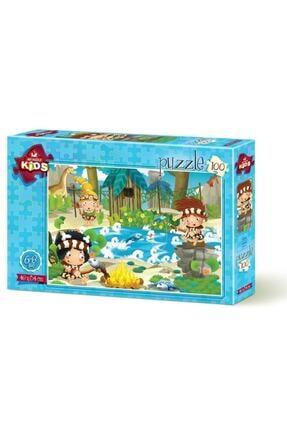 Art Puzzle Piknik 100 Parça 6+ Yaş Puzzle