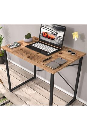 Eyibil Mobilya Mira Metal Çalışma Masası Bilgisayar Laptop Masası Atlantikçam-siyah
