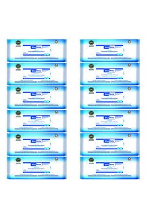 Bluewhite Antibakteriyel Perine Bölgesi Vücut Temizleme Havlusu-mendili 50 Li 12 Paket 600 Kullanım
