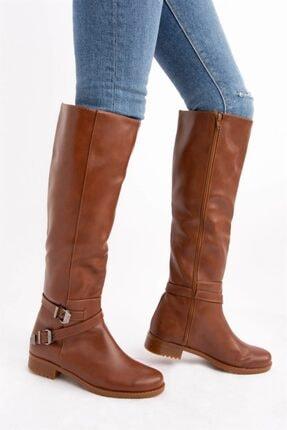Fox Shoes Taba Kadın Çizme E726203409