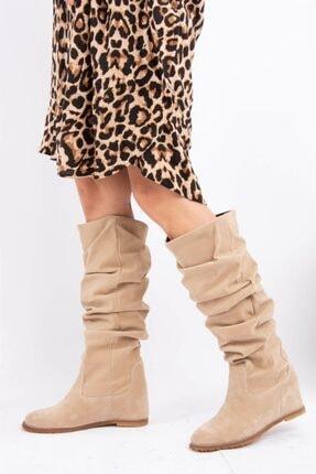 Fox Shoes Vizon Kadın Çizme E735051702