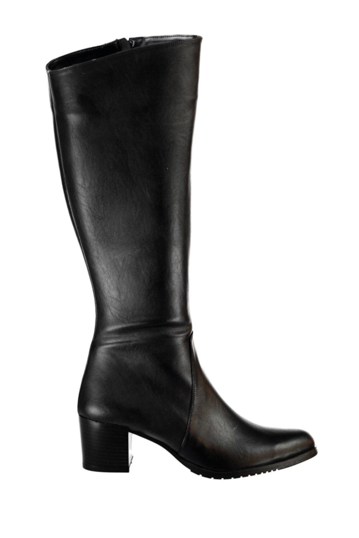 Fox Shoes Siyah Kadın Çizme A654252709 2
