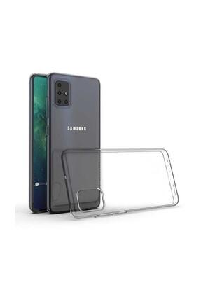 dijimedia Galaxy A51 Şeffaf Süper Silikon Kılıf