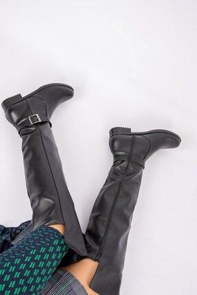Fox Shoes Siyah Kadın Çizme E726561809