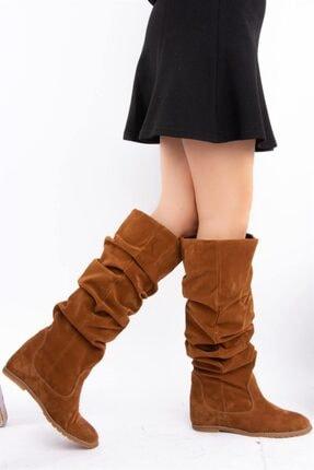 Fox Shoes Taba Kadın Çizme E735051702