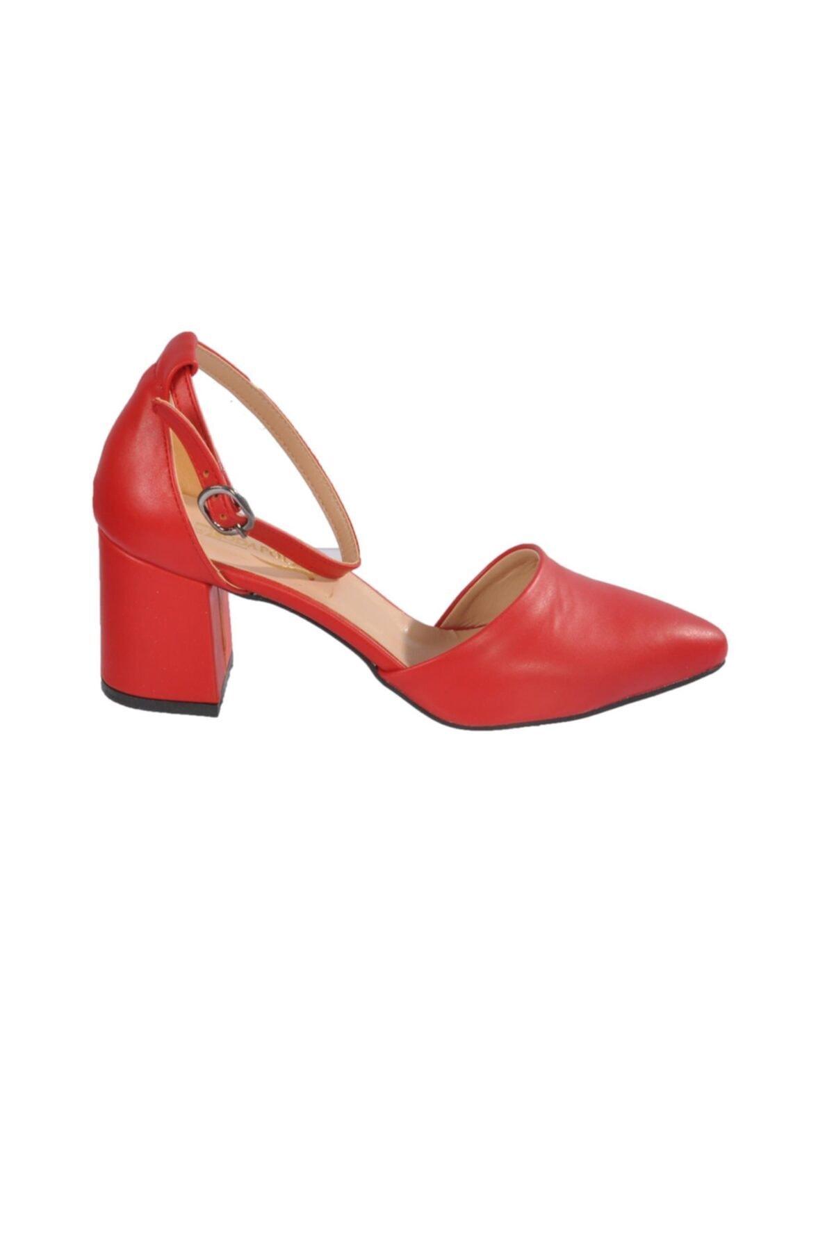 Maje 1903 Kırmızı Kadın Topuklu Ayakkabı 2