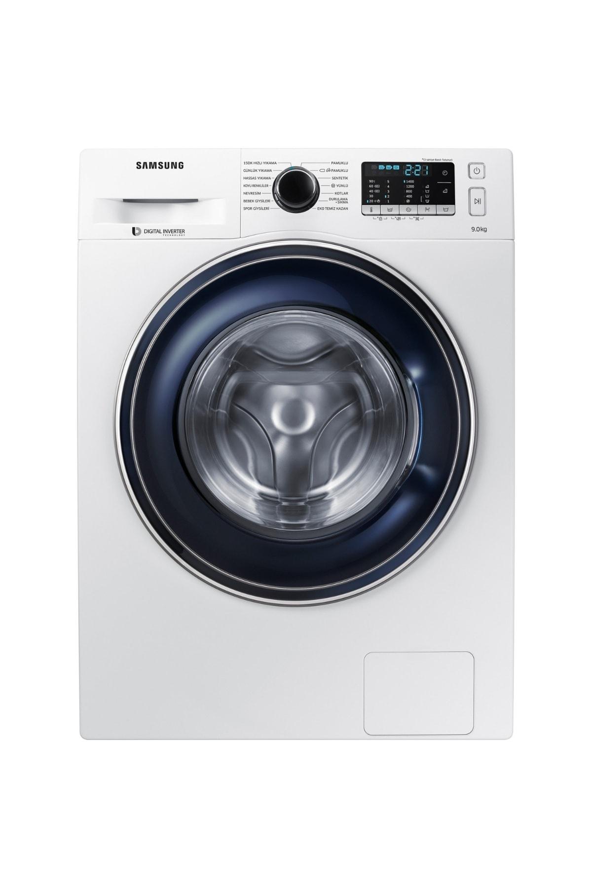 Samsung WW90J5475FW A+++ 1400 Devir 9 kg Çamaşır Makinesi 1