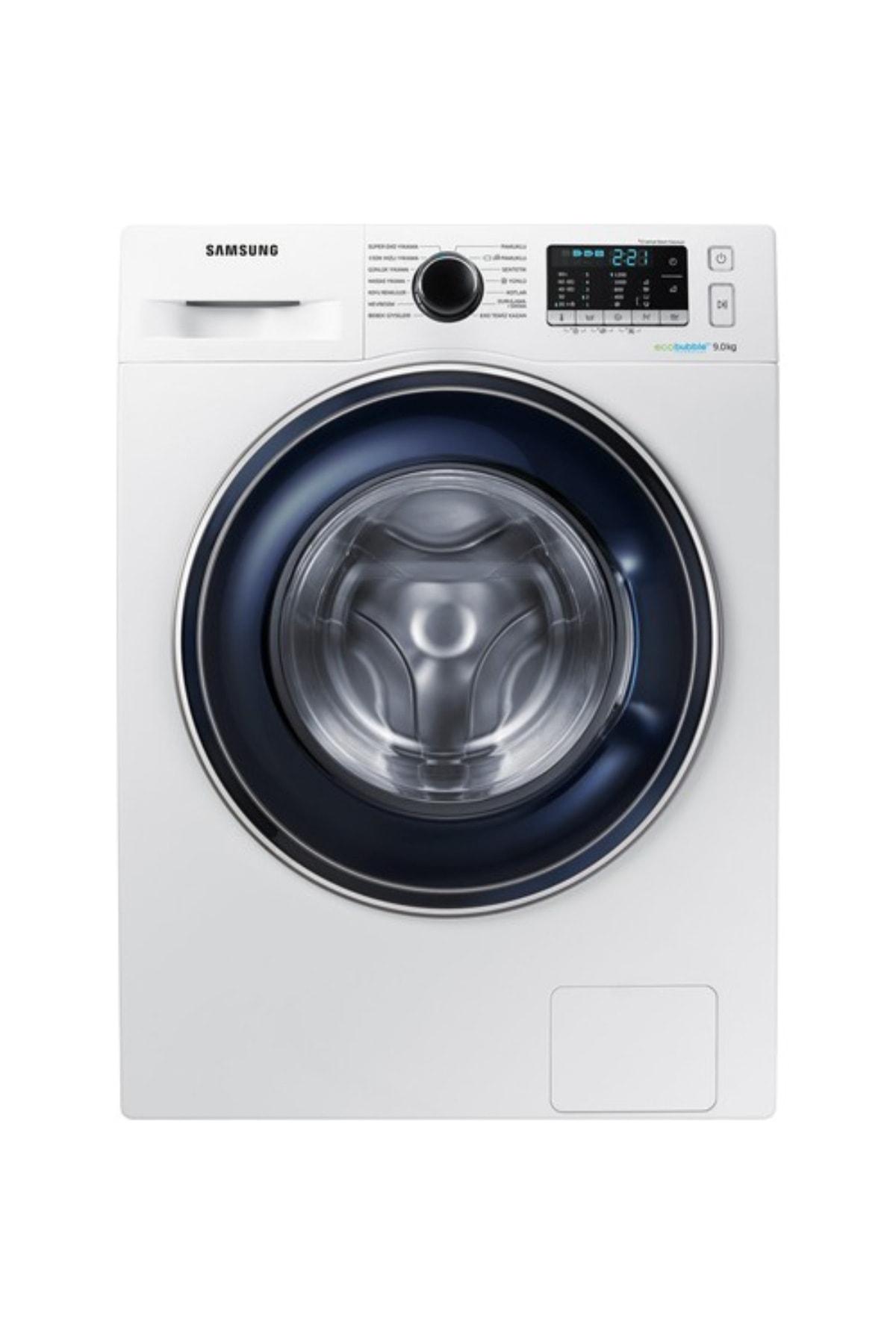 Samsung WW90J5355FW/AH A+++ 1200 Devir 9 Kg Çamaşır Makinesi 1