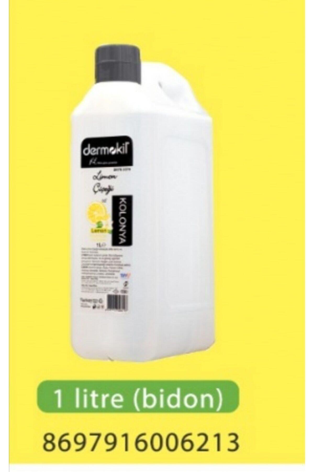 Dermokil 1lt Limon Kolonya 1