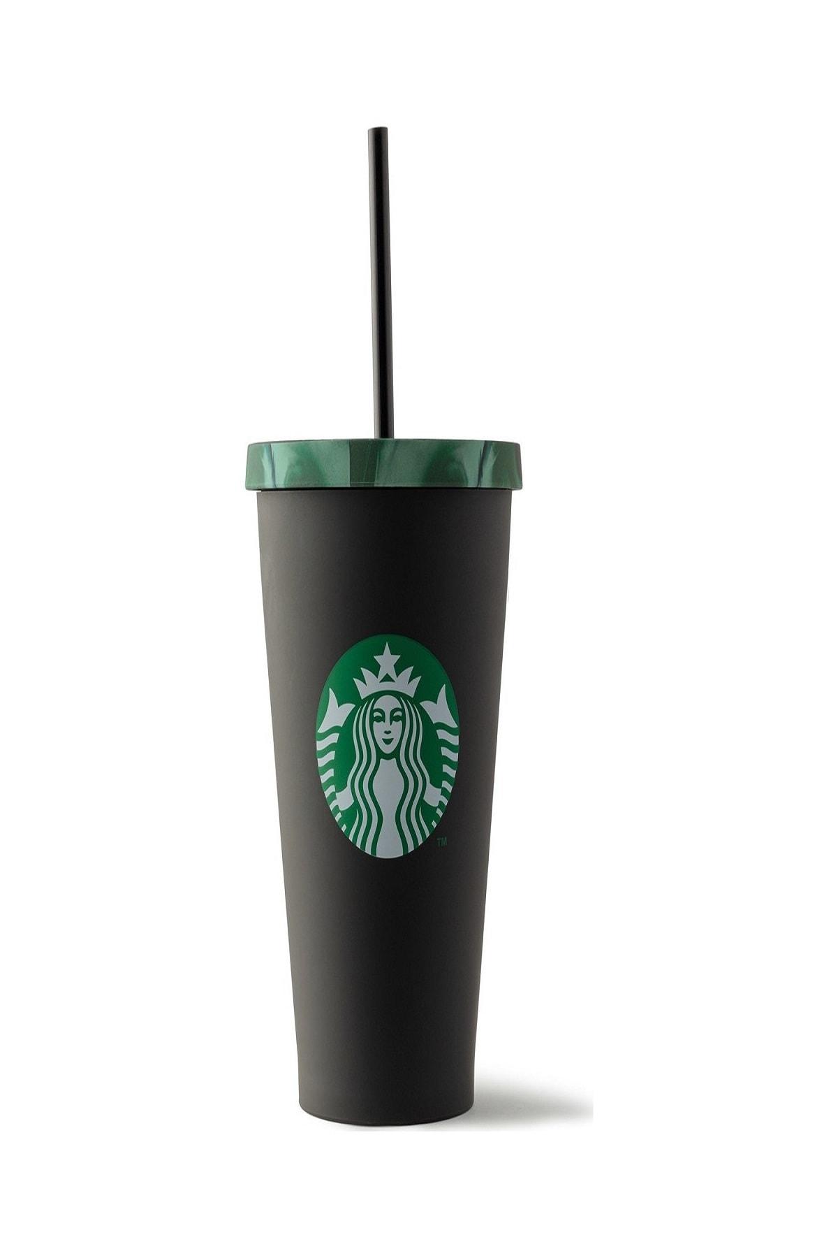 Starbucks ® Siyah Askeri Desenli Soğuk Içecek Bardağı - 473 Ml 1