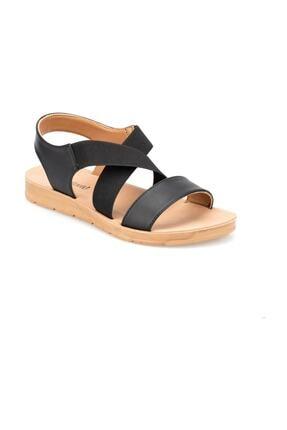 Polaris 91.150787CZ Siyah Kadın Sandalet 100374986