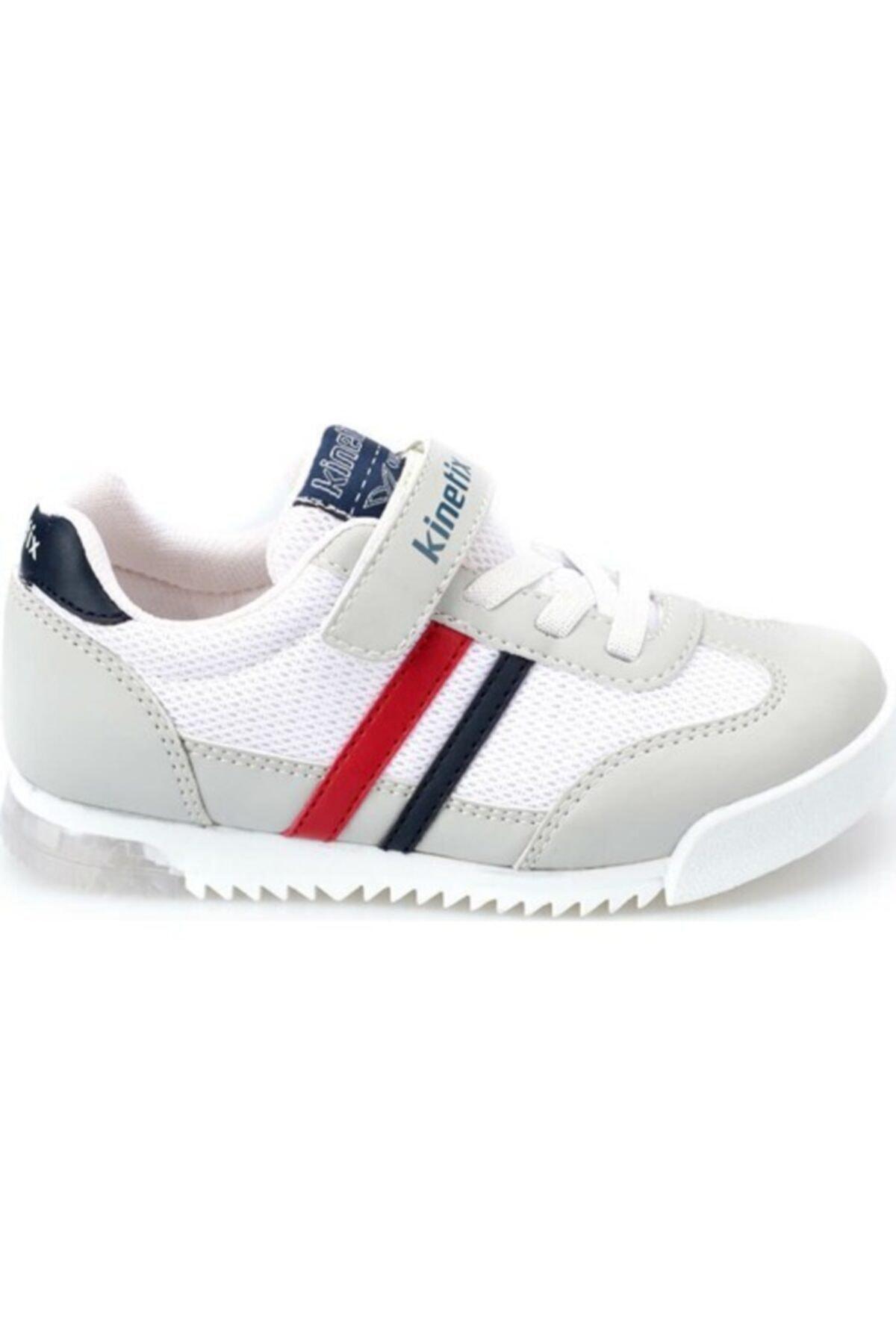 Kinetix HALLEY MESH J Açık Gri Erkek Çocuk Sneaker Ayakkabı 100355786 2