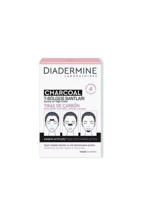 Diadermine Charcoal T-bölgesi Bantları 6lı