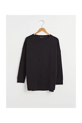 LC Waikiki Kadın Yeni Siyah Sweatshirt