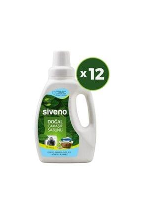 Siveno Doğal Çamaşır Sabunu 750 Ml X 12 Adet