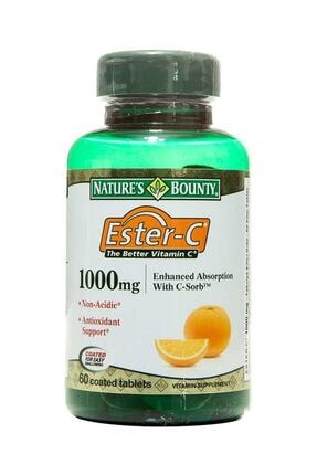 Nature's Bounty Ester C 1000 mg 60 Tablet 074312169809
