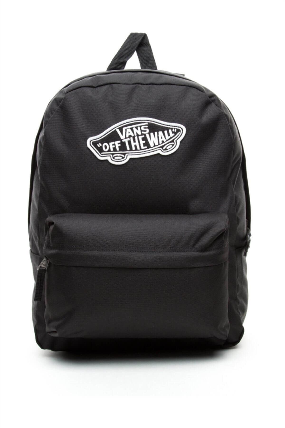 Vans Realm Backpack Siyah Unisex Sırt Çantası 100384797 1