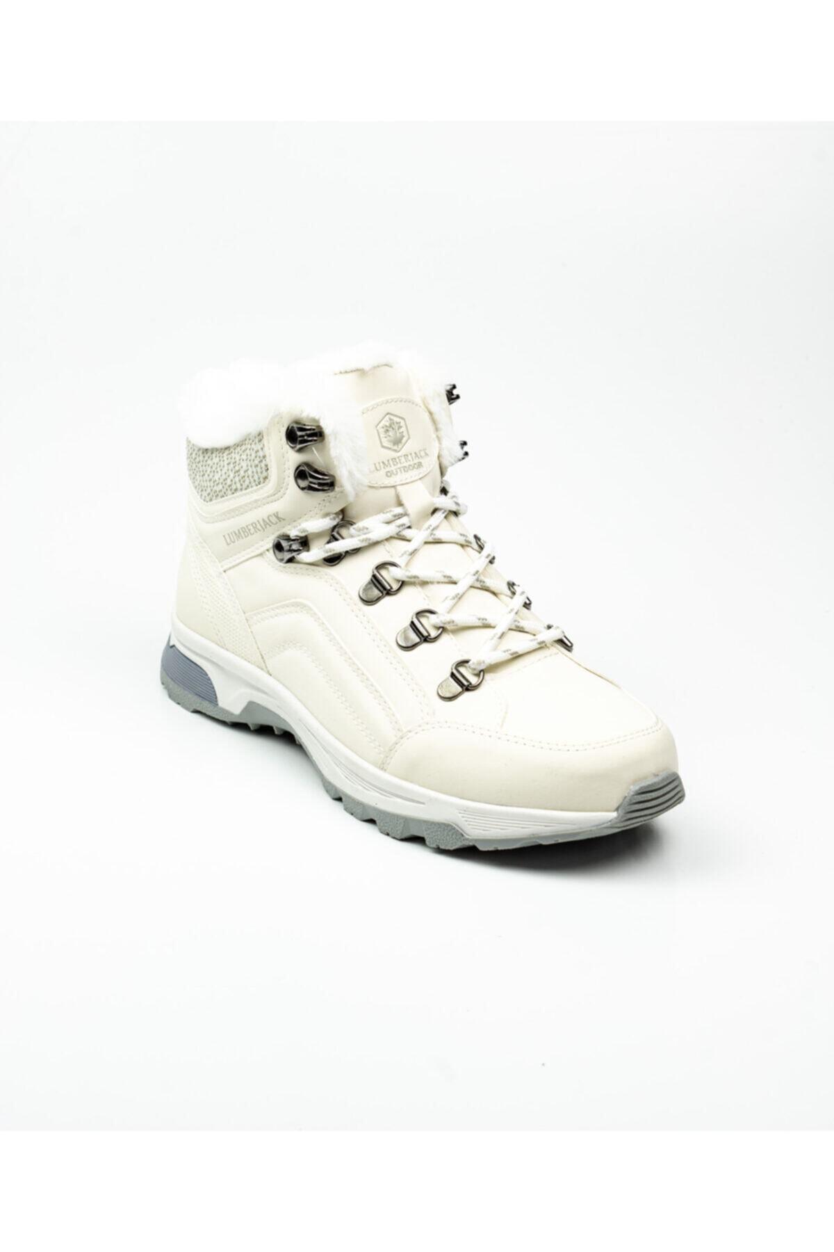 lumberjack Debora Kadın Beyaz Bot Beyaz-38 100550462 1