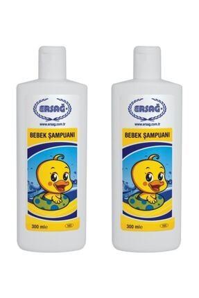 Ersağ Bebek Şampuanı 2x300 ml 2 Adet