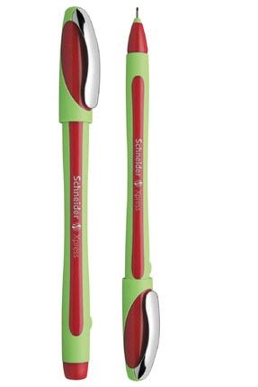 SCHNEIDER Pilot Kalem Keçe Uçlu Kırmızı Renk Fiber Uçlu Kalem Xpress