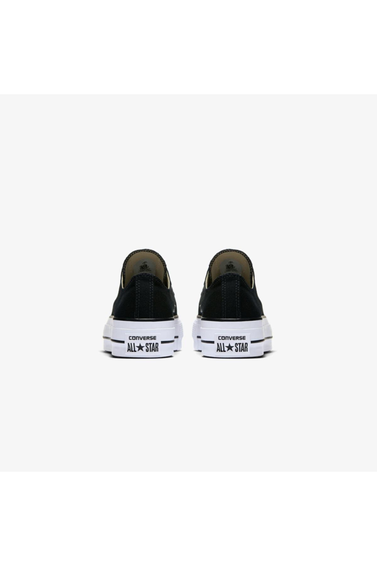 converse Chuck Taylor All Star Lift Kadın Siyah Sneaker 2