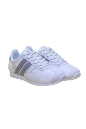 Lescon Unisex Beyaz Campus Ortopedik Sneakers Ayakkabı