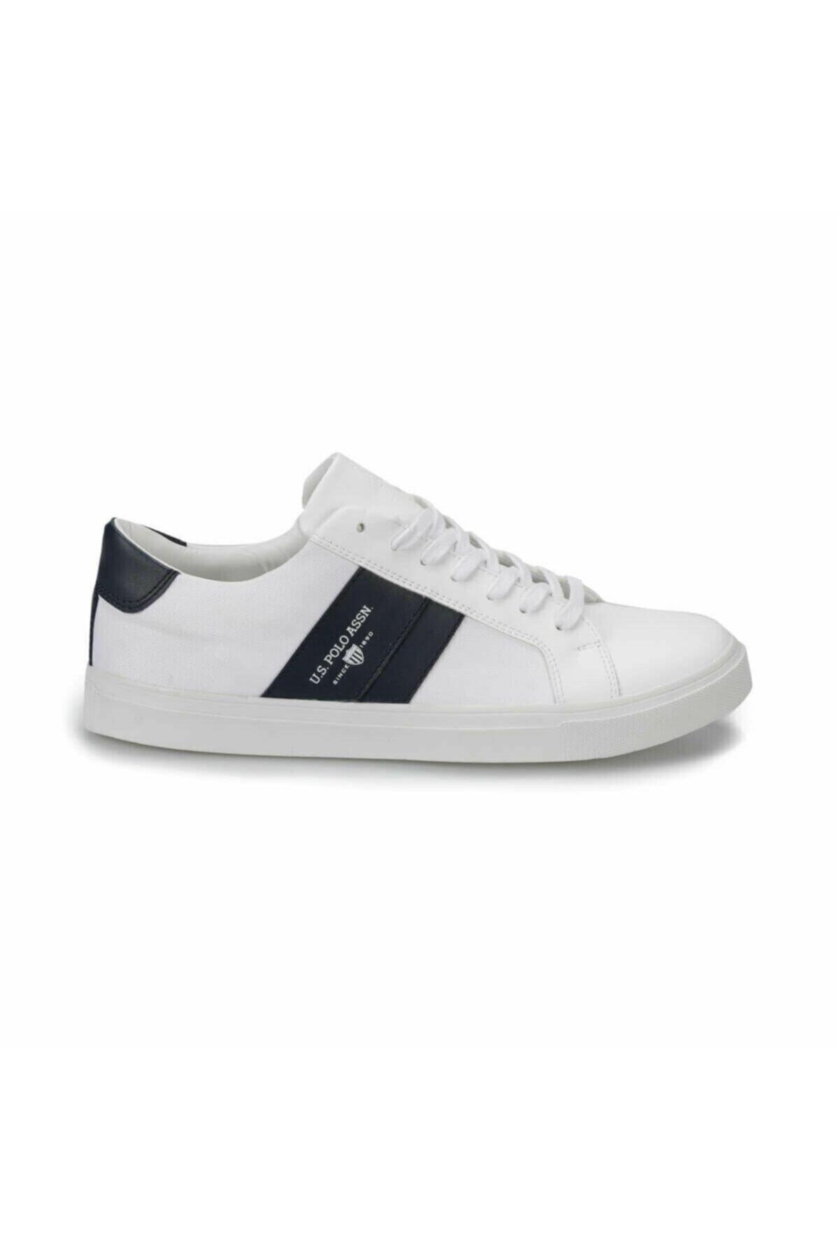 U.S. Polo Assn. Anton Beyaz Erkek Ayakkabı 100357277 1